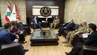 قائد الجيش حوزاف عون  التقى زكي