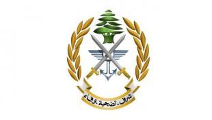 الجيش اللبناني : الخروقات الجوية للعدو الإسرائيلي