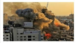 """إسرائيل تهدم """"أبراج"""" غزة و""""تتصيّد"""" قادة الفصائل"""