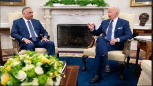 """بايدن يعلن انتهاء """"المهمة القتالية"""" للأميركيين في العراق... بدء """"مرحلة جديدة"""" من التعاون العسكري"""