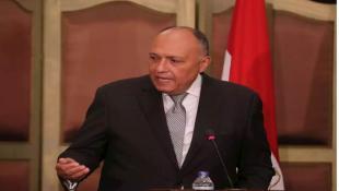 """ماذا قال وزير الخارجيّة المصري عن """"أزمة لبنان المُستفحلة""""؟"""