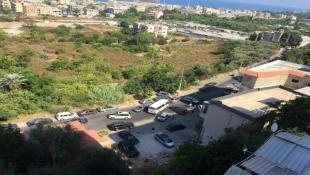 قطع عدد من الطرقات في صيدا   احتجاجا على ازمة المازوت وطوابير الذل امام محطات البنزين