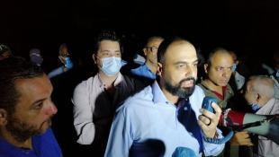 بالصور :  وقفة إحتحاجية لتيار المستقبل في صيدا أمام شركة الكهرباء للمطالبة بالتيار الكهربائي