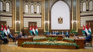 """قمّة ثلاثيّة أردنيّة مصريّة فلسطينيّة تنعقد في القاهرة: """"الإجراءات الإسرائيليّة اللاشرعيّة مرفوضة"""""""