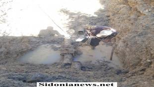 بالصور : مصلحة الليطاني : فرق الصيانة في دائرة مشروع  صيدا - جزين اعادت ضخ مياه الري على شبكة الصالحية بعد انجاز العطل