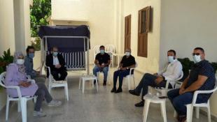 البزري يبحث مع وفد ايطالي وتجمع المؤسسات الاهلية دعم مستشفى صيدا الحكومي