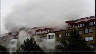 السويد: نقل 25 شخصاً للمستشفى بعد انفجار قوي