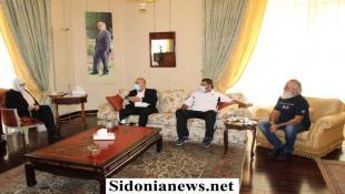 """بالصور : النائب بهية الحريري تبحث مع """"لجنة سيروب"""" بأوضاع المنطقة واحتياجاتها الحياتية والخدماتية"""