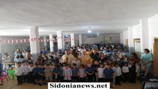 بالصور : المطران الحداد تراس قداسا احتفاليا بافتتاح العام الدراسي بمدرسة ليسيه سان نيقولا عين المير