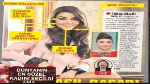 """بعد اختيارها """"أجمل امرأة في العالم""""... الصحافة التركيّة تسخر من هاندا ارتشيل: """"النجاح لطبيب التجميل"""""""