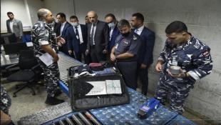 بالصور : وزير الداخلية خلال زيارة تفقدية إلى مطار بيروت: معنيّون بسلامة الدول العربية وأمنها