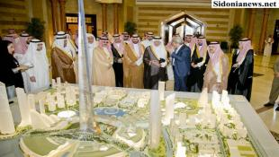 الأمير خالد الفيصل والأمير الوليد يجتمعان في جدة : مناقشة مشروع جدة الذي يتضمن أطول برج في العالم