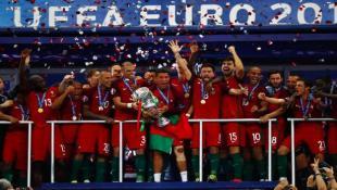 البرتغال من دون رونالدو بطلة أوروبا للمرة الأولى على حساب فرنسا 1 - 0